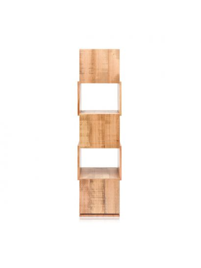 Twist Bookshelf in Select grade Oak
